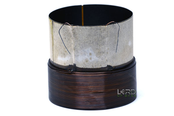 "3"" Single 4 Ohm Round Aluminum Voice Coil"