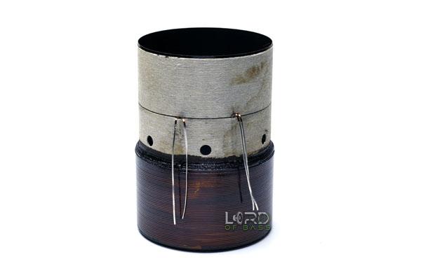"3"" Dual 1 Ohm Flat Aluminum Voice Coil"