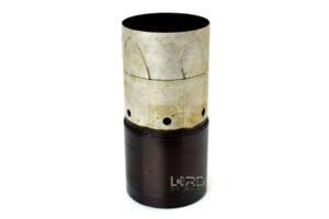 "2.5"" Dual 1 Ohm Flat Aluminum Voice Coil"