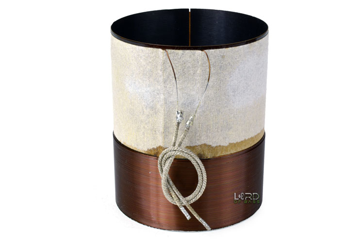 "2.5"" Single 4 Ohm Round Copper Voice Coil"