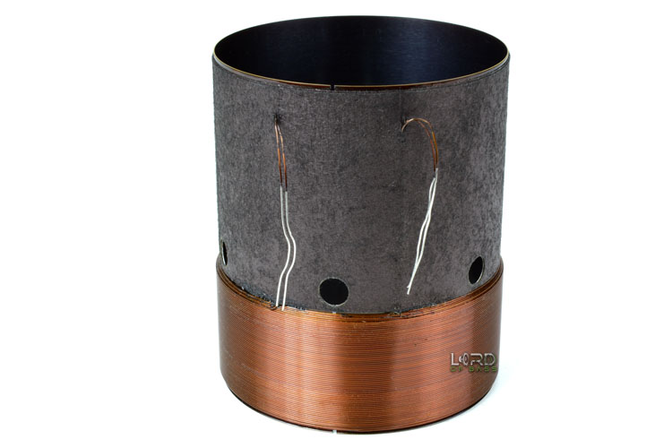 "2.5"" Dual 2.7 Ohm Round Copper Voice Coil"