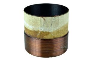 """2.5"""" Single 3 Ohm Round Copper Voice Coil"""