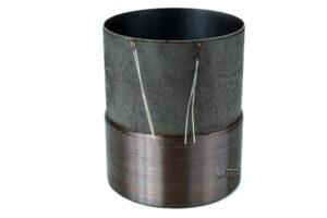 """2.5"""" Single 4 Ohm Round Copper Voice Coil"""
