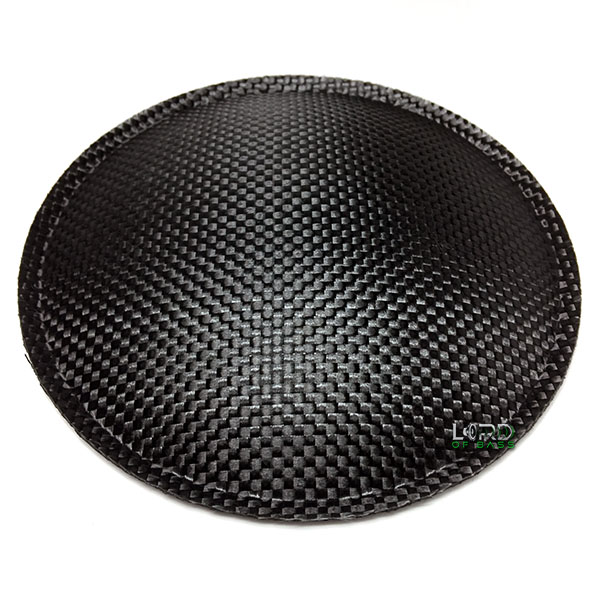 "5.9"" (150mm) Carbon Fiber Dust Cap"