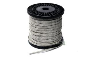 6mm Flat Braided Tinsel Lead Wire