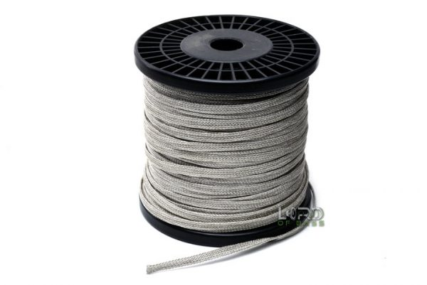 6mm Flat Braided Tinsel Lead Wire