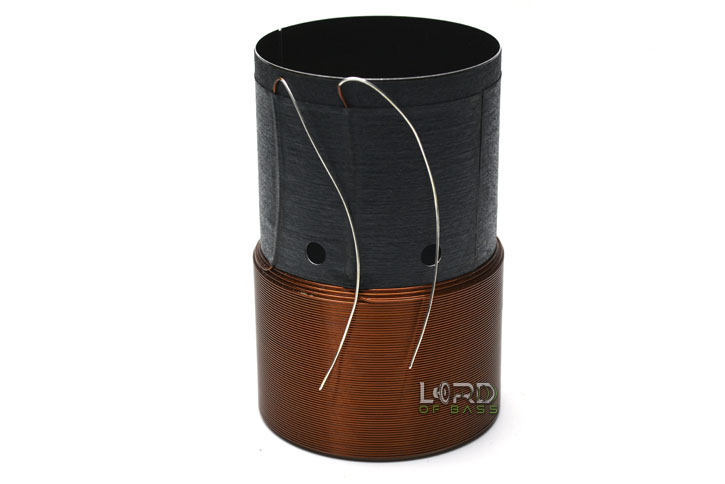 "2"" Dual 2 Ohm Copper Voice Coil"
