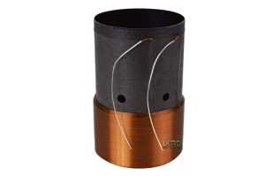"2"" Dual 2 Ohm Round Copper Voice Coil"