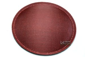 "5.9"" (150mm) Red Carbon Fiber Dust Cap"