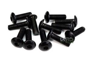 M6 x 20mm Button Head Socket Screws