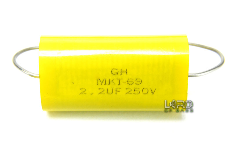 2.2uF 250V Speaker Capacitor Crossover (2 Pack)
