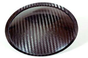 """5.11"""" (130mm) Carbon Fiber Dust Cap"""