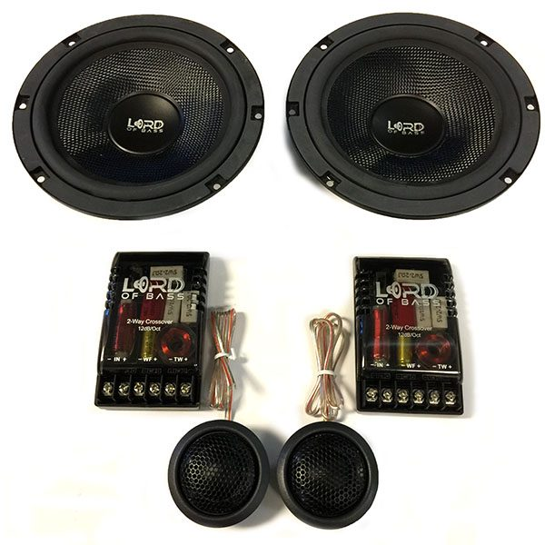 "SK65 6.5"" 2-Way Component Speakers"