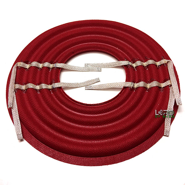 "8"" x 3"" Progressive Roll Red Spider With Flat Leads"