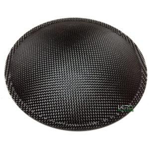 """5.1"""" (130mm) Carbon Fiber Dust Cap"""