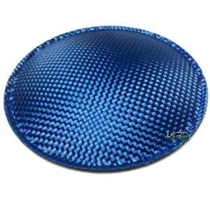 "4.7"" (120mm) Blue Carbon Fiber Dust Cap"