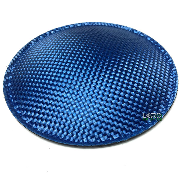 "4.7"" (120mm) Blue Carbon Fiber Dust Cap"