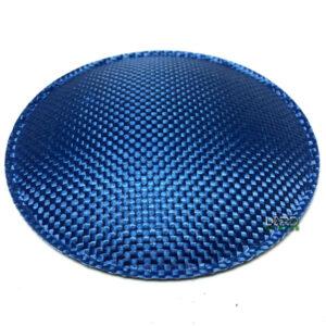 "5.1"" (130mm) Blue Carbon Fiber Dust Cap"