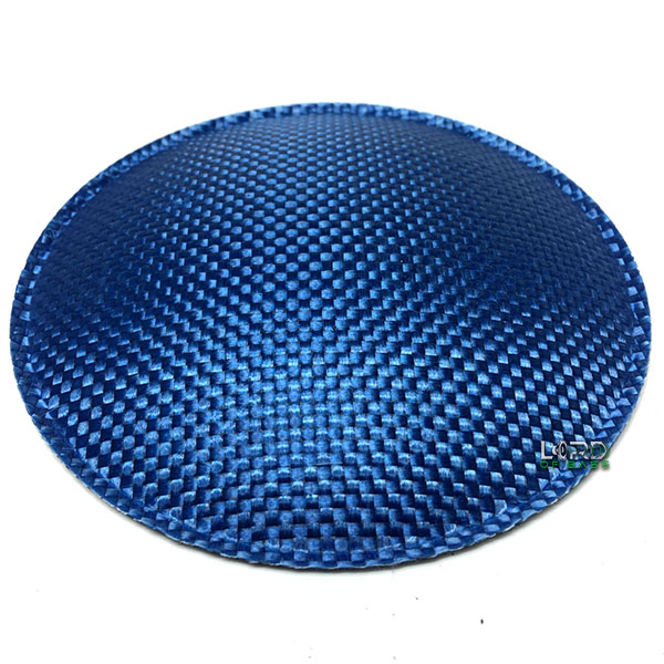 "5.1"" (130mm) Blue Carbon Fiber Dust Cap"