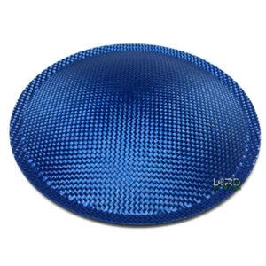 "7.08"" (180mm) Blue Carbon Fiber Dust Cap"