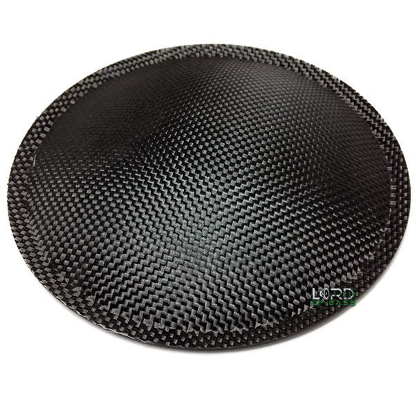 "7.08"" (180mm) Carbon Fiber Dust Cap"