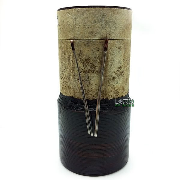 """2.5"""" Dual 1.4 ohm 8 Layer 2.5"""" Winding Voice Coil"""
