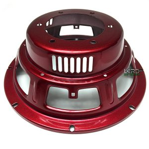 "8"" Red Six Spoke Subwoofer Frame"