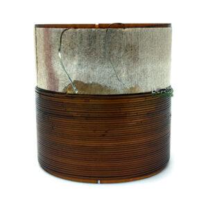 "2.015"" Single 8 Ohm Flat Copper Voice Coil"