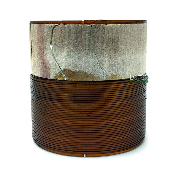 "2.015"" Single 8 Ohm Flat Copper Voice Coil"