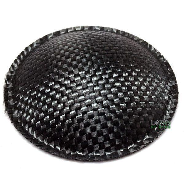 """2.9"""" (74mm) Carbon Fiber Dust Cap"""
