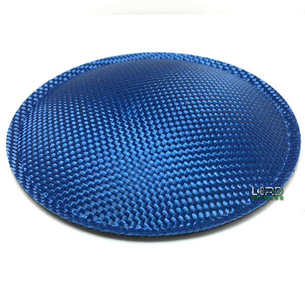 "5.9"" (150mm) Blue Carbon Fiber Dust Cap"