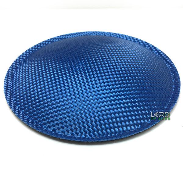 "5.9"" (150mm) Blue Carbon Fiber Dust Cap"