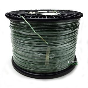 1.6mm Braided Tinsel Lead Wire With Insulated PVC Jacket