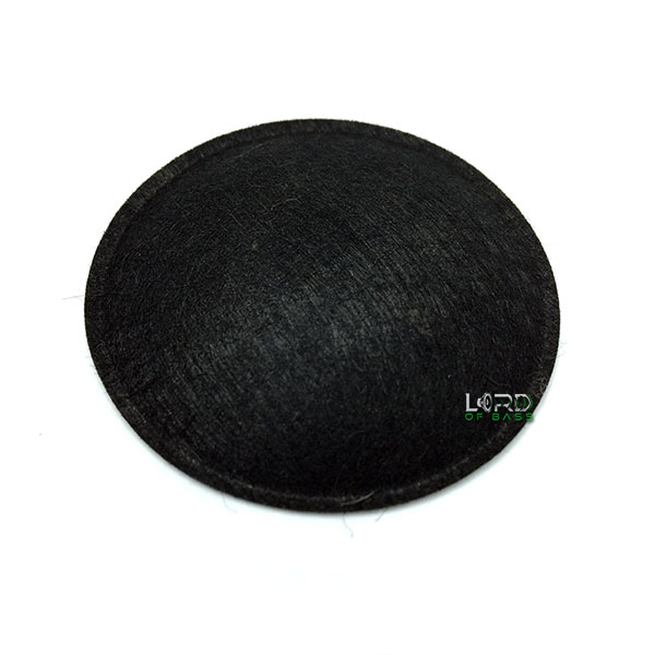 "2.28"" (57.9mm) Felt Dome Dust Cap"
