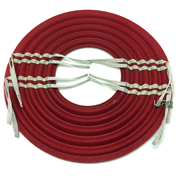 "10"" x 3"" Flat Linear Roll Spider Pack Red"